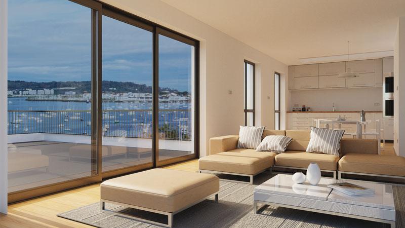 intérieur appartement résidence Badialde