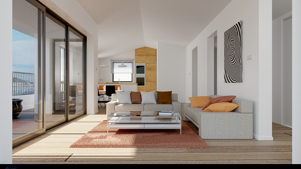 intérieur appartement Badialde